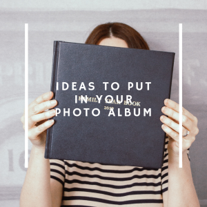 Ideas to put in your photo album by the Bespoke Album Company #photoalbum #personalisedphotoalbum