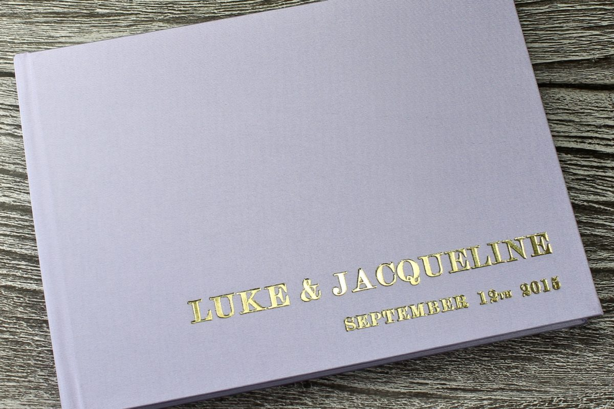Rainbow Wedding Guest Books