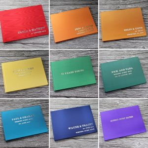 Rainbow Guest Books