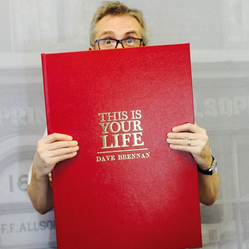 Personalised This Is Your Life Book