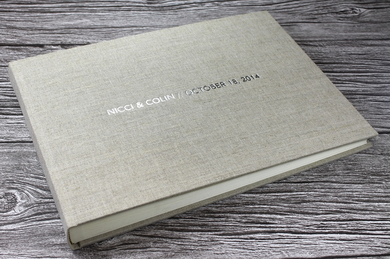 Personalised Linen Photo Albums Beautifully Handcrafted
